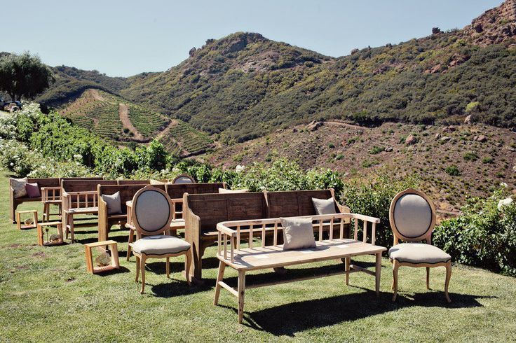 Unique Ceremony Seating