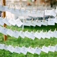 Handwritten Escort Cards
