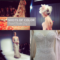 6 Quick Shots of Color from Bridal Market Day 3