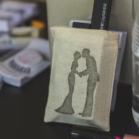 Silhouette Favor Bag