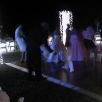 My guests and I dancing
