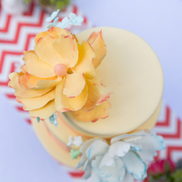 Lovely Floral Cake Topper