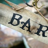 Rustic Bar Signage
