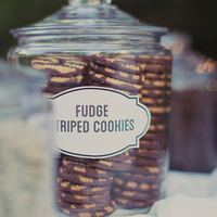 Fudge Striped Cookies