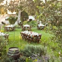 Outdoor Picnic Style Rehearsal Dinner