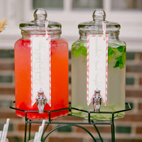 Drink Station Beverage Jars