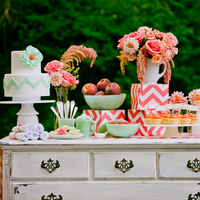 Modern Chic Dessert Table