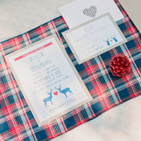 Plaid Stationery