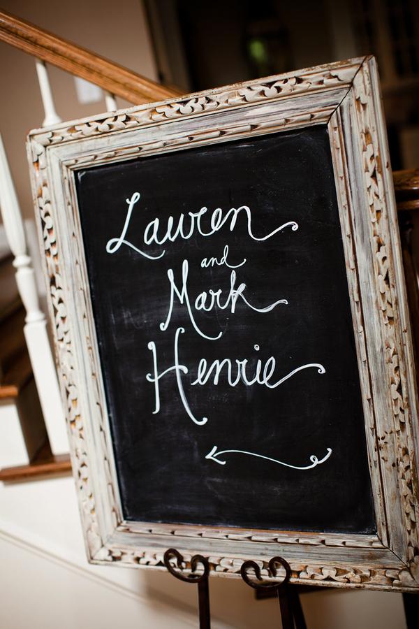 Chalkboard Sign