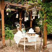 Unique Garden Wedding Style