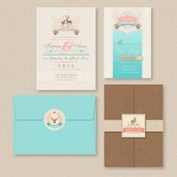 Animal Themed Invitation Suite