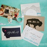 State Themed Invitation Set