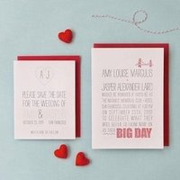 Heart Themed Invitation