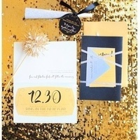 New Years Themed Invitation Set