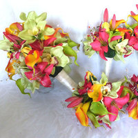Bridal Party - Tropical Bouquet Ideas