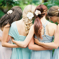 Relaxed Pastel Bridesmaid Dresses