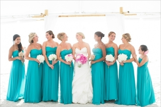 Blue Bridemaid Dresses