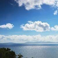 View towards the Hayman Islands