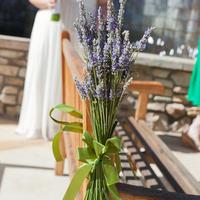 Lavender Aisle Marker