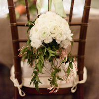 Floral Chair Decor