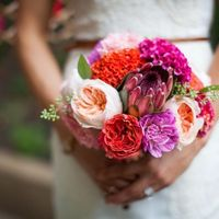 Top 3 Bright Bride Bouquets