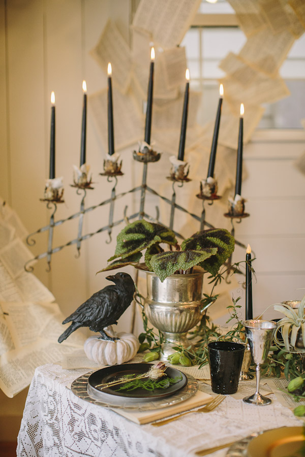 Black Wedding Decor