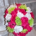 1383183210 thumb photo preview bridal bouquets silk wedding flowers  10