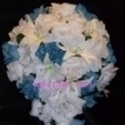 1383183899 thumb photo preview silk wedding flowers blue  2