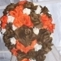 1383184336 thumb photo preview brown silk wedding flowers  2