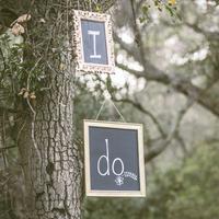 """""""I Do"""" Signage"""