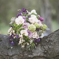 Purple Rustic Bouquet