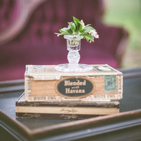 Cigar Box Centerpieces