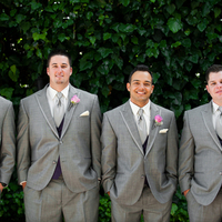 Groomsmen in Gray