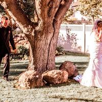 Groom Sneeking up on Bride (Reveal)