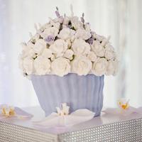 Floral Cupcake