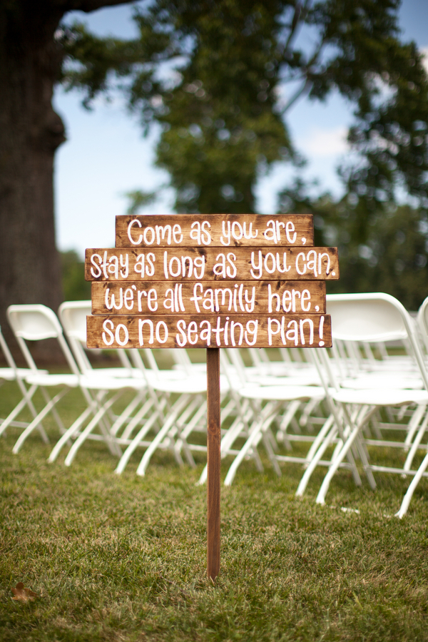 Ceremony Sign