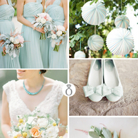 Color Palettes: Mint Green & Citrus