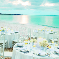 Classic White Wedding Reception