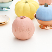 DIY: Harvest Pumpkin Place Cards
