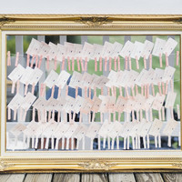 9 Unique Ways to Display Your Escort Cards