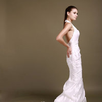 Fashion, mermaid  bridal gown