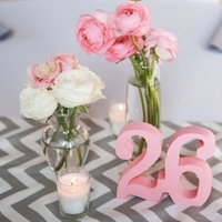 Pink and Chevron
