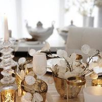 Pastel op tafel
