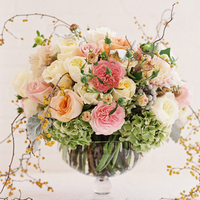 Garden Wedding Centerpiece