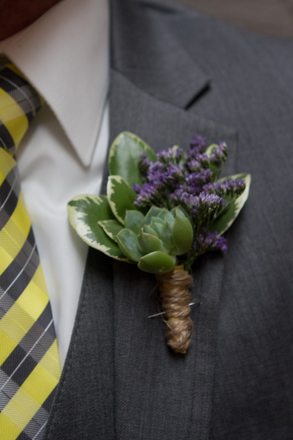 Eco-Friendly Boutonniere