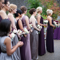 Bridesmaids in a Row