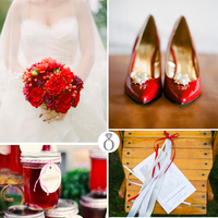 Color Palettes: Romantic Red