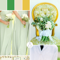 Color Palettes: Green & Yellow