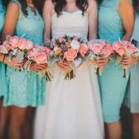 Wedding Color Palette: Teal