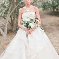 Silk Tulle Ball Gown